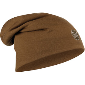 Buff Heavyweight Merino Wool Hat solid tundra khaki